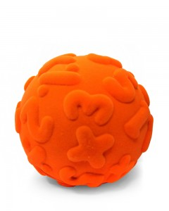 Rubbabu - Orange Numeral Ball (Large)