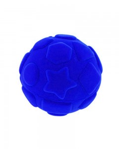 Rubbabu - Blue Shapes Ball (Large)