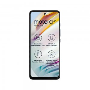 MOTOROLA G40 Fusion (Frosted Champagne, 128 GB)  (6 GB RAM)