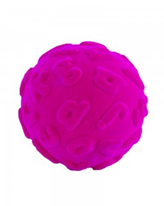 Rubbabu - Magenta Alphalearn Ball Lowercase (Large)