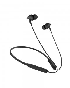 Boat 100 Wireless On-Neck Bluetooth V5.0 Earphones with Flexible & Lightweight Design with in-Built mic.
