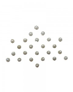 Comet Busters Diamond Collection White Stone Bindi
