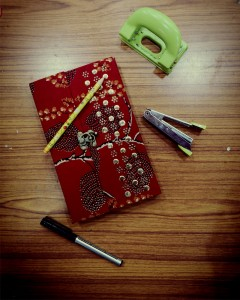Comet Busters Handicrafts Maroon Handmade Diary With Latch Closure