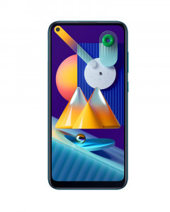 Samsung Galaxy M11 (Blue, 4GB RAM, 64GB Storage)