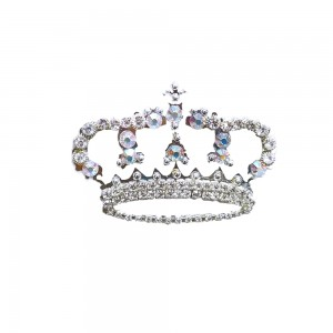 Comet Busters Silver Stone Work Temporary Crown Body Tattoo Body Jewels (BJ184)