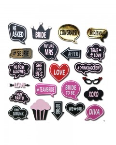 Comet Busters Bridesmaids Gift Team-Bride Stickers Temporary Tattoo Sticker