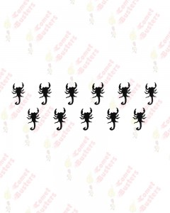 Comet Busters Black Scorpion Bindi