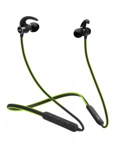 Boat Rockerz 255 Sports Bluetooth Wireless Earphone with Immersive Stereo Sound and Hands Free Mic (Green)