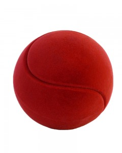Rubbabu - Red Tennis Ball (Large)