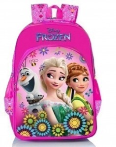 Disney Frozen Floral Pink School Bag 16 inch