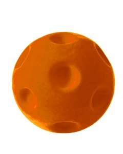 Rubbabu - Orange Crater Ball (Large)