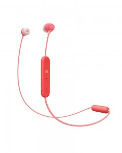 Sony WI-C300 Wireless In-Ear Headphones (Red)