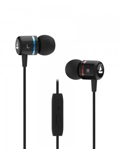 Boat Bassheads 107 Wired Earphones with in-Built mic (black)