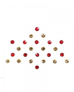 Comet Busters Diamond Collection Golden Dot Bindi