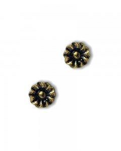 Comet Busters Stylish Bronze Polish Studs for Women and Girls