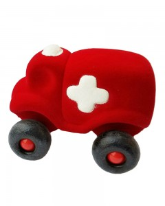 Rubbabu - Hopkins The Little Ambulance Small (Red)