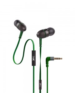 Boat Bass Heads 228 | In-Ear Headphones with Mic | Forest Green