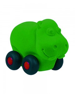 Rubbabu Aniwheel Hippo Large (Green)