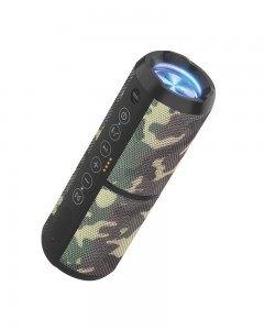 Portronics Breeze II 20W Bluetooth 4.2 Portable Stereo Speaker (Camouflage)