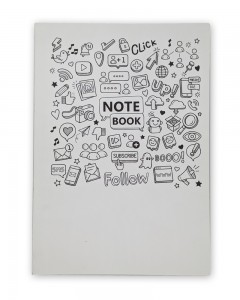 Comet Busters Beautiful Printed White Ruled Pages Diary