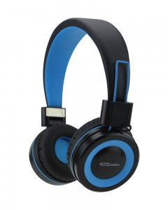 Portronics POR-012 Muffs G Bluetooth 4.2 Stereo Headphone | Blue