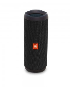 JBL Flip 4 Portable Wireless Speaker with Powerful Bass & Mic | Black