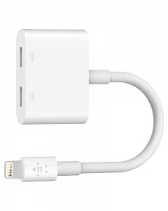 Belkin Lightning Audio + Charge RockStar | White |