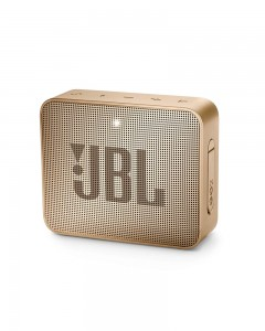 JBL Go 2 Portable Bluetooth Waterproof Speaker | Champagne