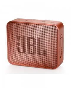 JBL Go 2 Portable Bluetooth Waterproof Speaker | Cinnamon