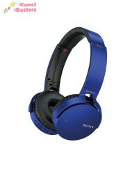 Sony MDR-XB650BT   Headphones With Mic   Blue