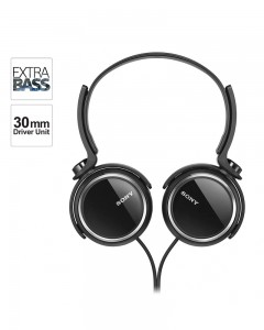 Sony Extra Bass MDR-XB250 On-Ear Headphones | Black