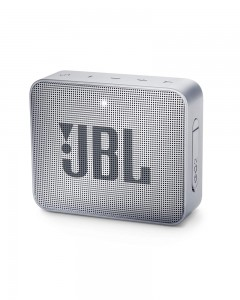 JBL Go 2 Portable Bluetooth Waterproof Speaker | Ash Gray