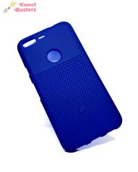 Google Pixel Soft Back Cover Case Blue
