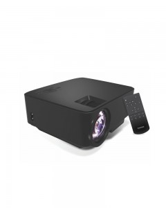 Portronics por 624 | Portable LED Projector | Black
