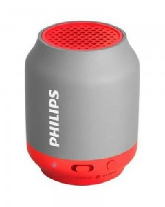 Philips BT50G/00 2 W Portable Bluetooth Speaker  | Grey, Mono Channel