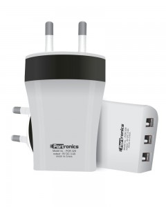 Portronics AC USB Adapter