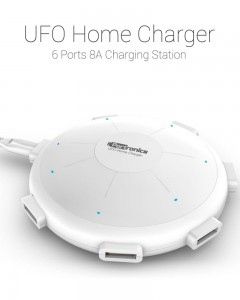 Portronics | UFO Home Charger | White |