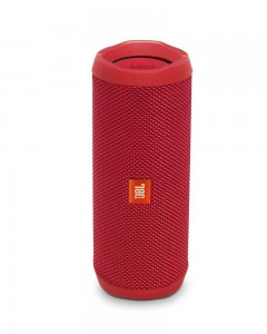 JBL Flip 4 Portable Wireless Speaker with Powerful Bass & Mic | Red