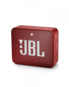 JBL Go 2 Portable Bluetooth Waterproof Speaker | Red