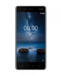 Nokia 8 | Steel Color | 64GB | Refurbished| WITH BILL AND 6 MONTHS MANUFACTURER WARRANTY