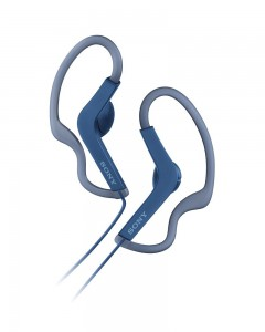 Sony MDR-AS210 | Sports Earphones | Blue
