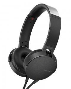 Sony MDR-XB550AP | Headphones With Mic | Black |