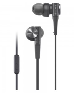 Sony MDR-XB55AP | In-Ear Headphones | Mic | Black