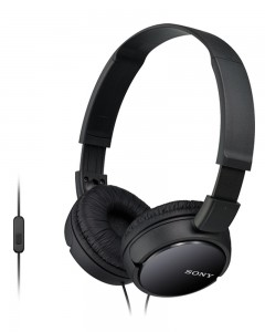 Sony MDR-ZX110AP | Headphones With Mic | Black |