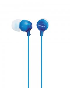 Sony MDR EX15LP | In-Ear headphones | Blue