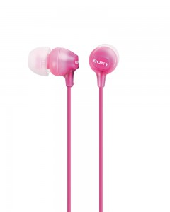 Sony MDR EX15LP | In-Ear Headphones | Pink