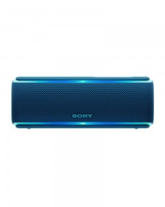 Sony SRS-XB21 Extra Bass Portable Waterproof Wireless Speaker with Bluetooth and NFC (Blue)