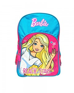 Barbie Reach To Stars 18' ' School Bag (Pink, Blue, 35 L)