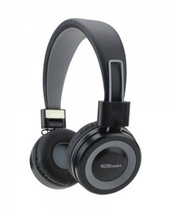 Portronics POR-012 Muffs G Bluetooth 4.2 Stereo Headphone | Grey