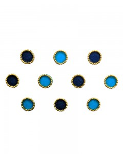 Comet Busters Beautiful Blue Round Bindi